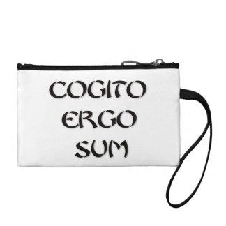 Cogito Ergo Sum Coin Purse