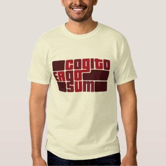 Cogito Ergo Sum Shirts