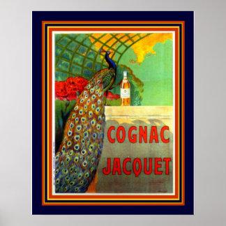 Cognac Jacquet 1912 Advertisement -16x20 Poster
