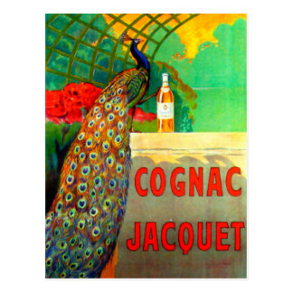 Cognac Jacquet Vintage Advertising Poster Postcard
