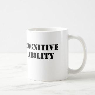 Cognitive Ability Coffee Mug