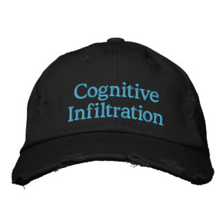 Cognitive Infiltration Embroidered Hat