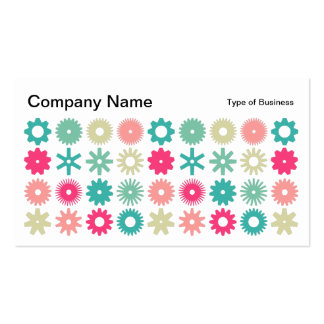 Cogs - Colors 01 Pack Of Standard Business Cards