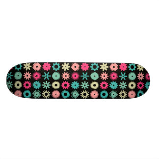 Cogs - Colours 01 - on Black Skateboards