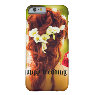 cohesion, wedding, flowers, hair, red hair, red ro barely there iPhone 6 case