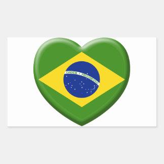 Coil Brésil Samba Rectangular Sticker
