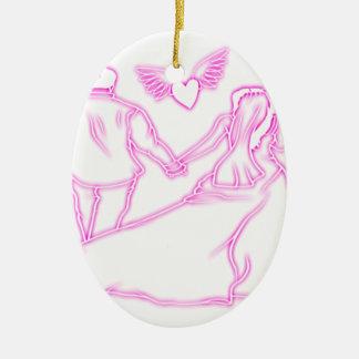 coil ceramic ornament