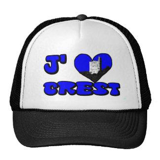 Coil Crest blue Cap