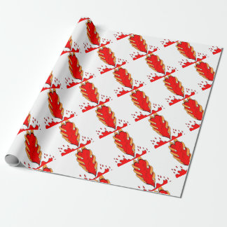 coil me wrapping paper
