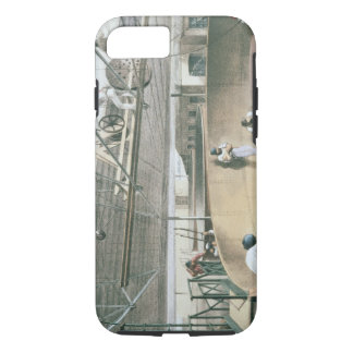 Coiling the telegraph cable in the tanks at the wo iPhone 7 case