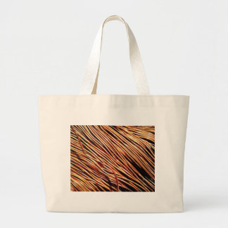 coils of the electric motor large tote bag