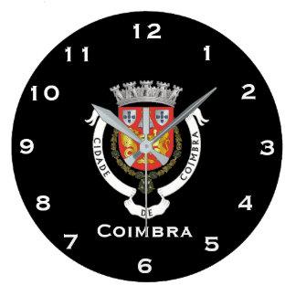 Coimbra Portugal Wall Clock