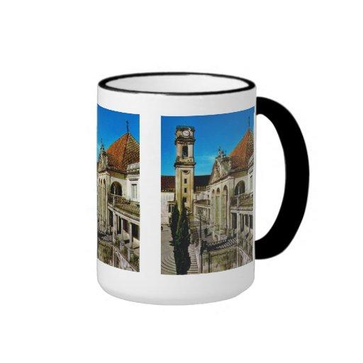 Coimbra,  university buildings mugs