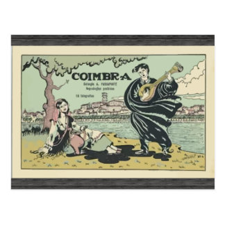 Coimbra , Vintage Post Card
