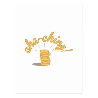 Coin Cha-ching! Postcard