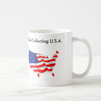 Coin Collecting U.S.A. Coffee Mug