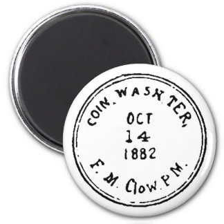 Coin Ghostmark 6 Cm Round Magnet