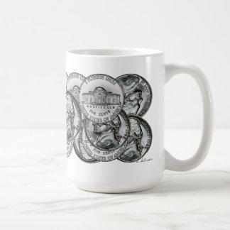 COIN NICKEL MUG