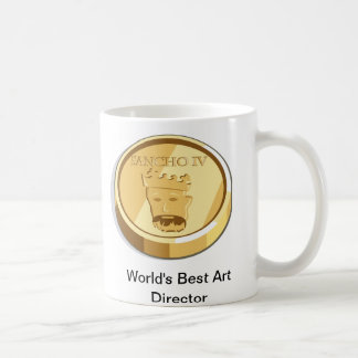 coin, World's Best Art Director Coffee Mug