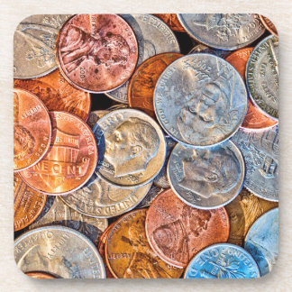 Coined Currency Coaster
