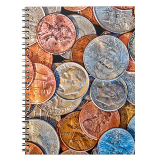 Coined Currency Notebooks