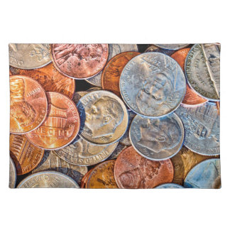 Coined Currency Placemat