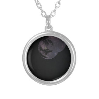 Coins and Constellations Silver Plated Necklace