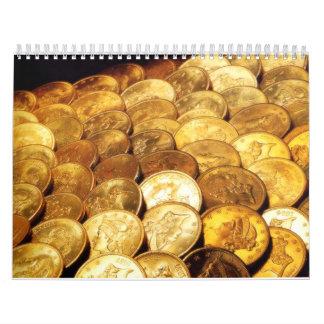 Coins Calandar Calendar