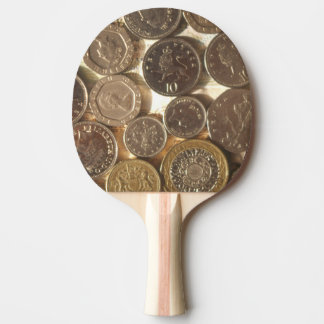 Coins Ping Pong Paddle