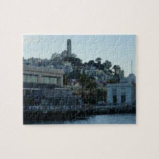 Coit Tower, San Francisco #3 Jigsaw Puzzle