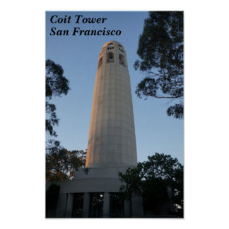 Coit Tower, San Francisco #5-2 Poster