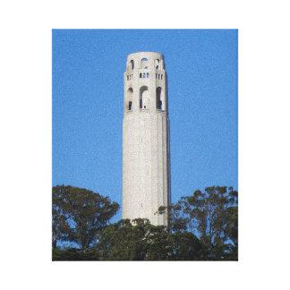 Coit Tower, San Francisco #6 Canvas