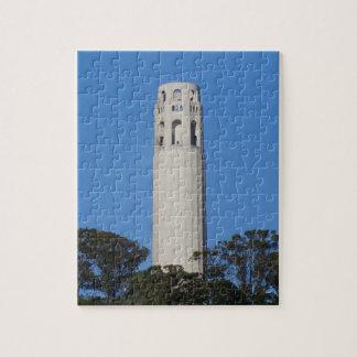 Coit Tower, San Francisco #6 Jigsaw Puzzle