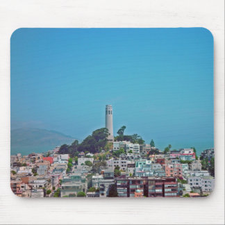 Coit Tower, San Francisco, California Mouse Pad