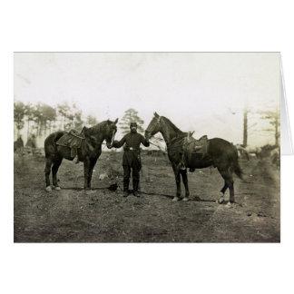 Col. Sharpe's horses Card