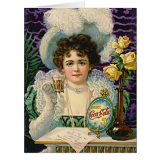 Cola Ad 1890 Big Greeting Card