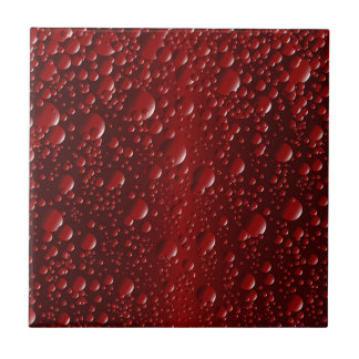 Cola Bubbles Small Square Tile