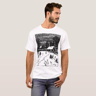 Colby Farm Illustration T-Shirt. T-Shirt