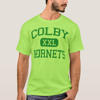 Colby - Hornets - High School - Colby Wisconsin T-Shirt