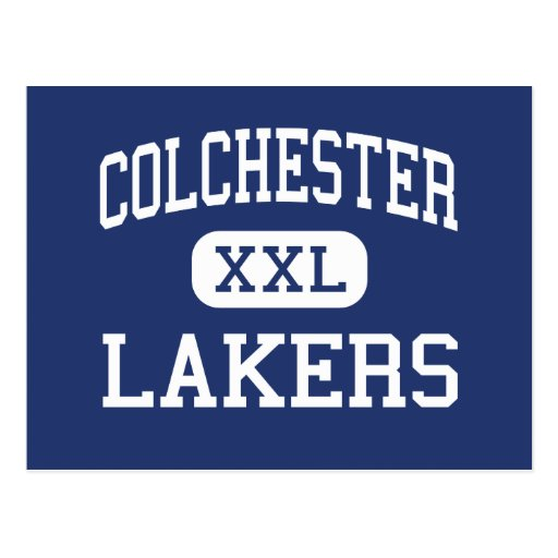 Colchester - Lakers - High - Colchester Vermont Post Cards