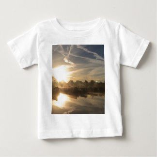 Cold and frosty morning. baby T-Shirt
