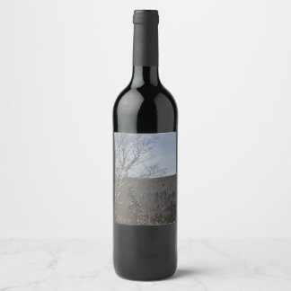 Cold and Lonely Wine Label