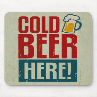 Cold Beer Mousepads