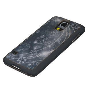 Cold Blue Winter Maple Galaxy S5 Case