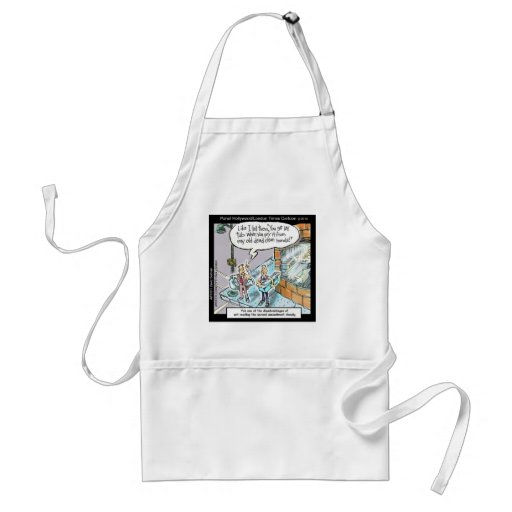 Cold Clean Hands W/Guns Funny Gifts & Tees Aprons