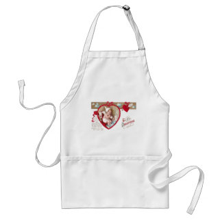 Cold Cupid Takes Hot Foot Bath Apron