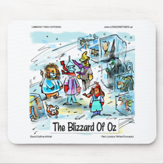 Cold Day In Oz Funny Tees Mugs Cards & Gifts Mouse Pad