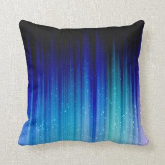 Cold Fire Throw Pillow