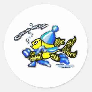 Cold Fish Classic Round Sticker