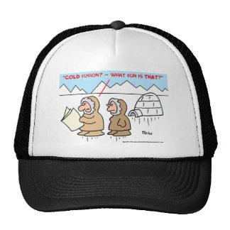 COLD FUSION MESH HATS